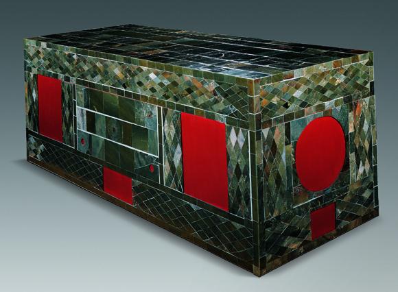 Jade coffin