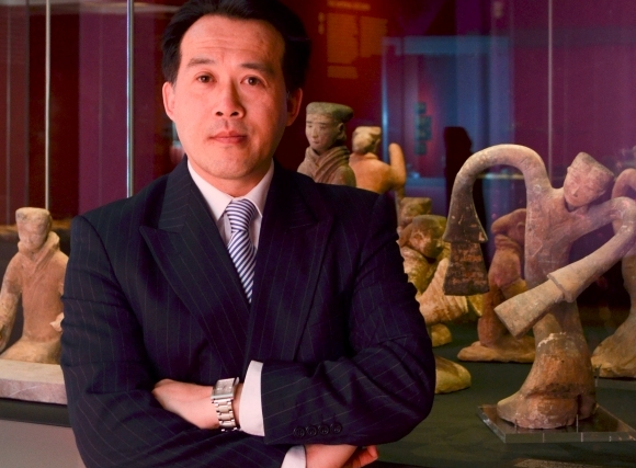 James Lin in the galleries of The Search for Immortality